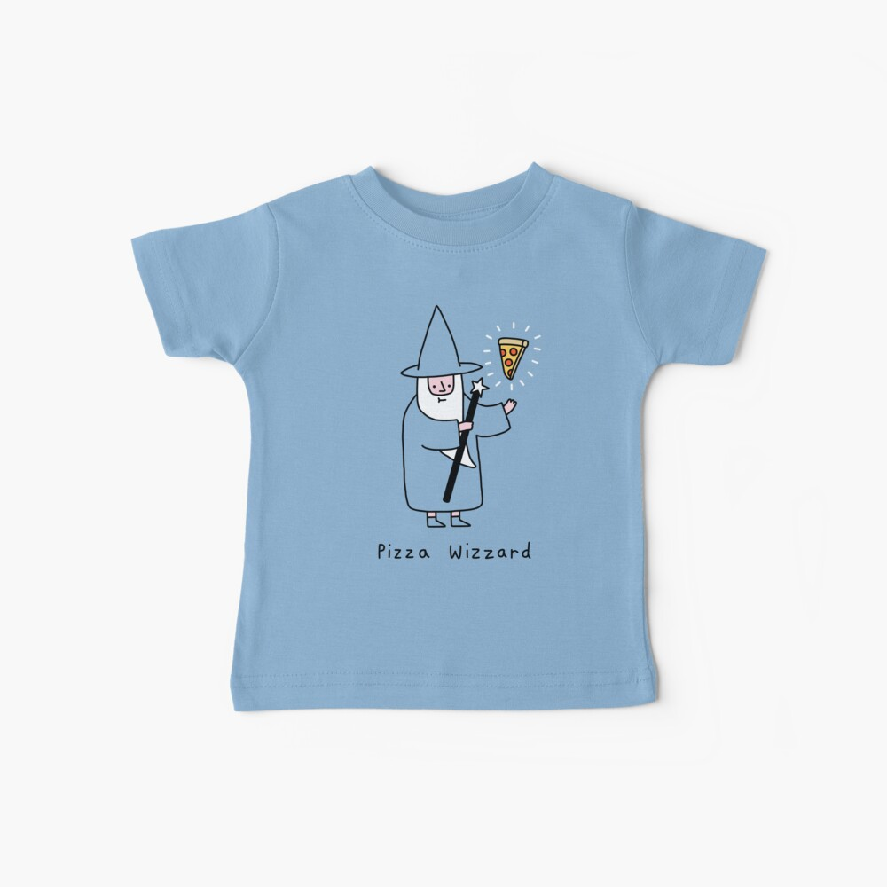 Pizza Wizzard Baby T-Shirt
