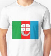 Liguria Flag Unisex T-Shirt