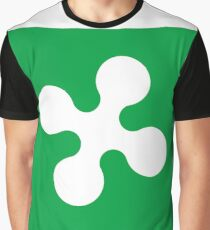 Lombardy Flag Graphic T-Shirt