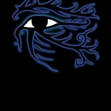 Tribal Eye of Horus by LeahMcNeir
