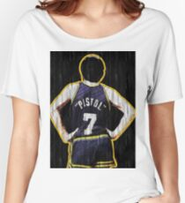 Pete Maravich - The Pistol  Women's Relaxed Fit T-Shirt
