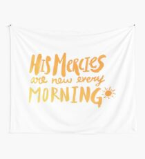 Mercy Morning Sunrise Wall Tapestry