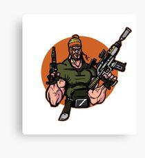 Smuggler Bro Joins the Battle Canvas Print