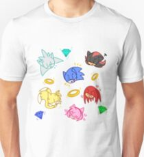 Sonic and friends! Unisex T-Shirt