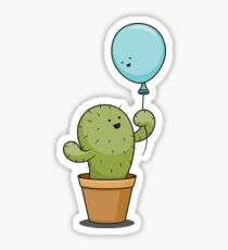 Cartoon Cactus Stickers | Redbubble
