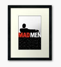 MADMEN Framed Print