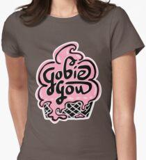 Gobie Gou Logo Women's Fitted T-Shirt