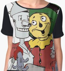 Scarecrow and Tinman Chiffon Top
