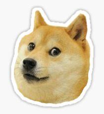 Shibe Doge Gesicht Sticker