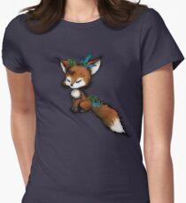 Spirit Fox - Totem Animal  Womens Fitted T-Shirt