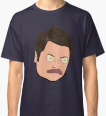 Bacon and Eggs Ron Swanson Classic T-Shirt