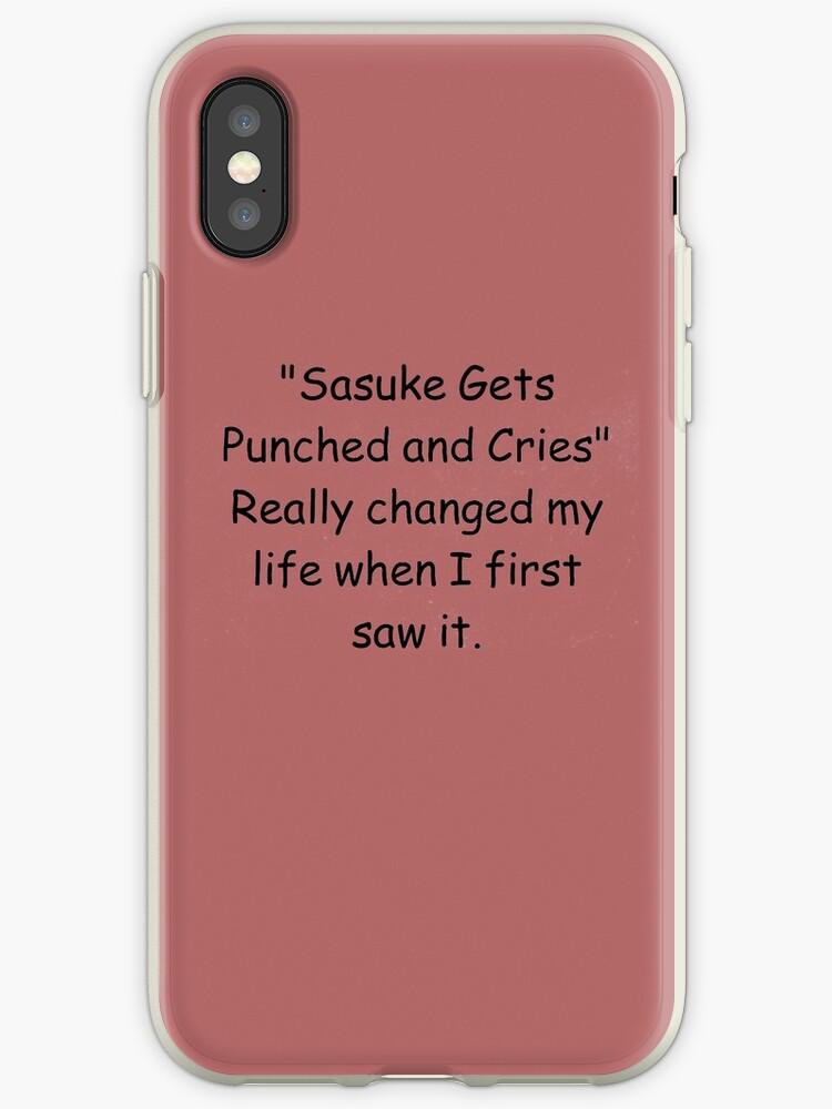 coque iphone xs sasuke
