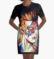 Rock Star  Graphic T-Shirt Dress
