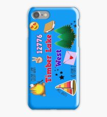 Timber Lake West Camp iPhone 6/6s case iPhone Case/Skin