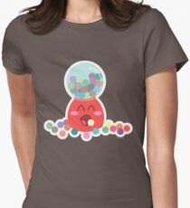 Bubble Gum Machine Womens Fitted T-Shirt