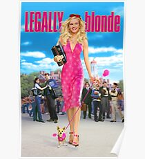 Legally Blonde (2001) Movie Poster Poster