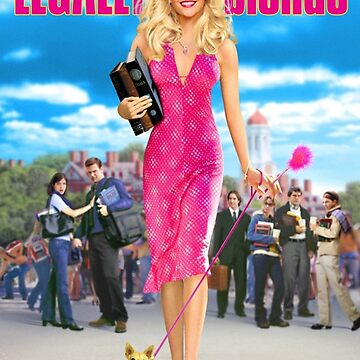 Legally Blonde (2001) Cartel de la película de TellAVision