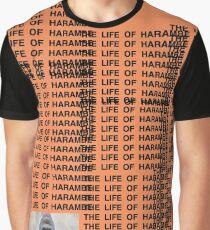 Harambe - The Life of Harambe Graphic T-Shirt