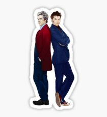 Doctor Who - Doctor 10 & Doctor 12 Sticker