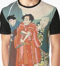Three Samurai Graphic T-Shirt