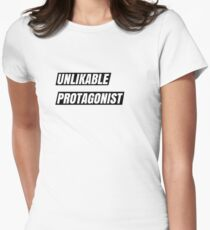 Unlikable Protagonist Women's Fitted T-Shirt