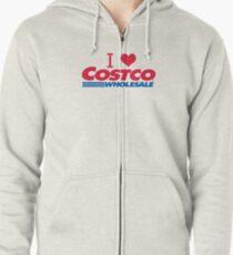 I love Costco Zipped Hoodie