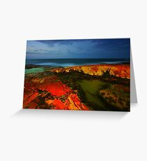 South West Rocks at Night Greeting Card