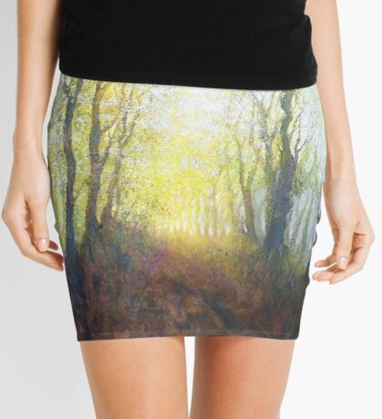 The Beginning of a Perfect Day (Original painting sold) Mini Skirt