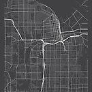 Tacoma Karte, USA - Grau von MainStreetMaps