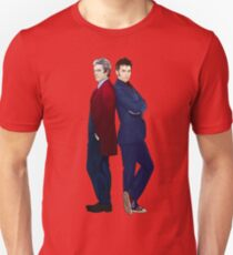 Doctor Who - Doctor 10 & Doctor 12 Unisex T-Shirt