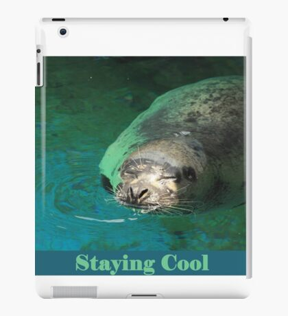 Staying Cool iPad Case/Skin