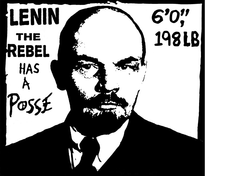 """Vladimir Lenin Has A Posse - Obey Andre the Giant ..."