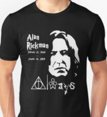Alan Rickman Always Unisex T-Shirt