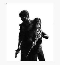 Last of Us remastered no black background Photographic Print