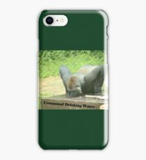 Communal Drinking Water iPhone Case/Skin