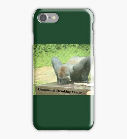 Communal Drinking Water iPhone Case/Skin