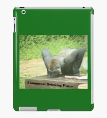Communal Drinking Water iPad Case/Skin