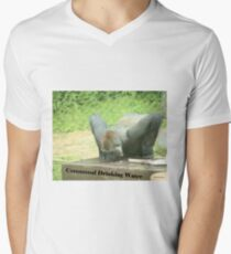 Communal Drinking Water Men's V-Neck T-Shirt