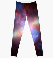 Messier 82 Galaxy Astronomy Image Leggings