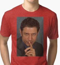 Jeff Goldblum Tri-blend T-Shirt
