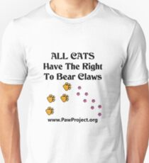 Right to Bear Claws - Color Unisex T-Shirt