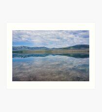 Mirror, Lake McDonald, Montana Art Print
