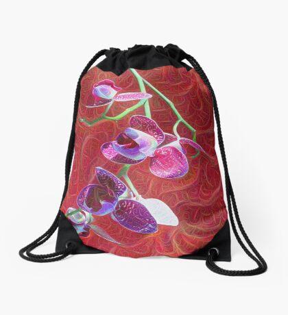Phalaenopsis B Drawstring Bag