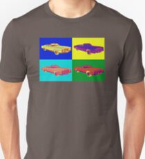 1975 Cadillac El Dorado Convertible Pop Art T-Shirt