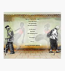 Northern Soul Print Poster Canvas Photographic Print