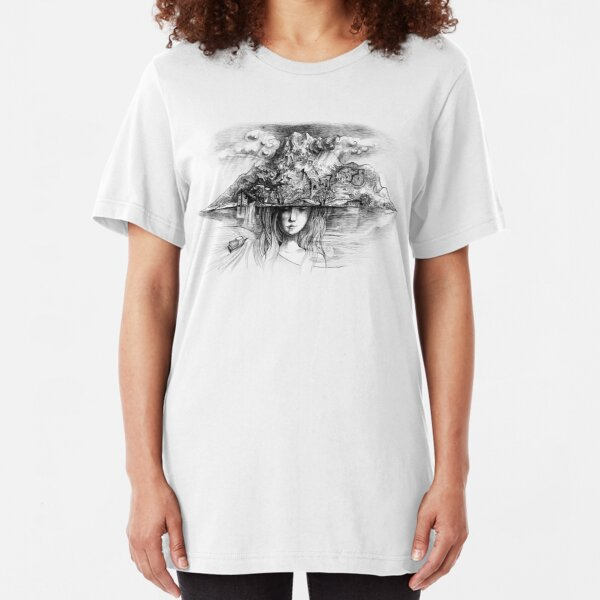 Samothrace - the island of dreams Slim Fit T-Shirt