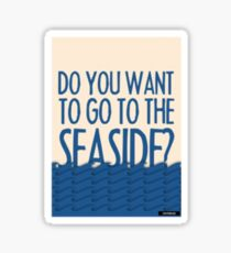 seaside  Sticker