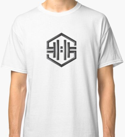 VHS Glitch - The Symbol - Black Classic T-Shirt
