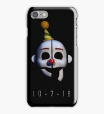 Five Nights at Freddy's - Sister Location Release Date iPhone Case/Skin