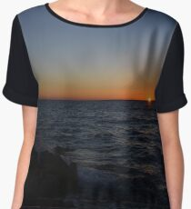 Sunset Women's Chiffon Top